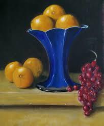 The Blue Vase New Work 2015 Len Mackin