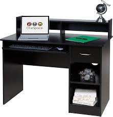 Harbor View Computer Desk With Hutch by Amazon Com Onespace 50 Ld0105 Essential Computer Desk Hutch With