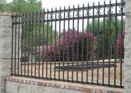 ornamental wrought iron property fences orange county ca iron