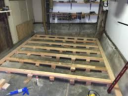 all replies on leveling concrete floor of garage lumberjocks com