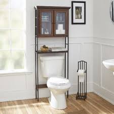 Bathroom Over The Toilet Storage by Brown Over The Toilet Storage You U0027ll Love Wayfair