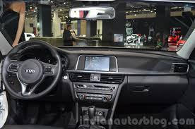 Optima Kia Interior 2016 Kia Optima Dashboard Interior At Iaa 2015 Indian Autos Blog