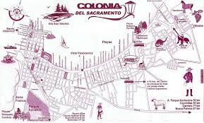Map Of Uruguay Colonia Map Map Of Colonia Del Sacramento Uruguay
