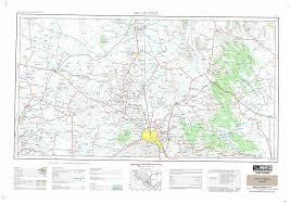 Map Of Rocky Point Mexico Carta Topografica Imagen Digital Escala 1 250000 Serie Ii