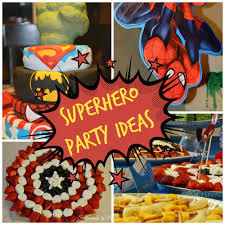 Superman Decoration Ideas by Superhero Party Ideas Surroundings By Debi