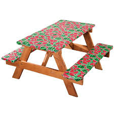 picnic table covers walmart watermelon deluxe picnic table cover walmart com