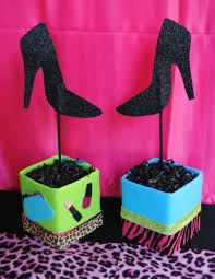 items similar to glamour party 2 centerpieces girls diva party