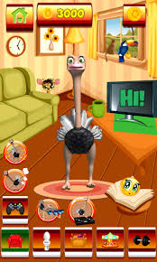 talking android talking ostrich free android app android freeware
