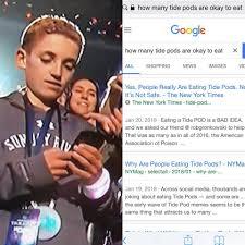Memes Super Bowl - tide pod eating super bowl kid know your meme