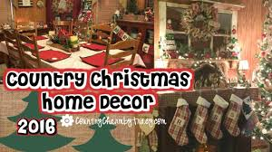 christmas home decor my country christmas home decor 2016 youtube