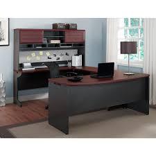Computer Desks With Hutch by Altra Furniture Pursuit U Configuration Bundle Desk Bridge