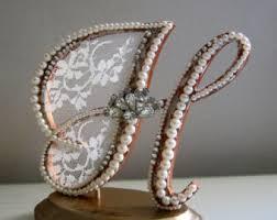 h cake topper cake topper rustic cake topper wedding gift letter l topper