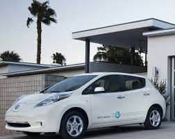 nissan leaf solar panel spoiler panel green family car
