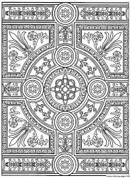 zen anti stress to print parquet patterns coloring pages