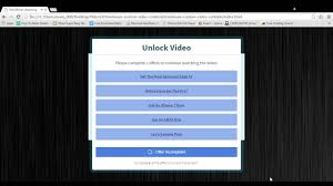 cpa landing page movie streaming content locker page youtube