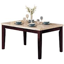 amazon com coaster home furnishings 102771 casual dining table