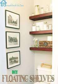 entertainment center ideas diy storage u0026 organization thick wooden floating bathroom shelves