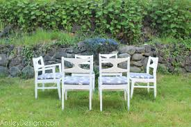 Mid Century Outdoor Chairs Ansley Designs Beachy White Mid Century Modern Dining Chairs