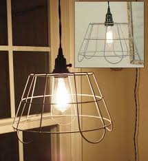incredible wire basket chandelier wire basket chandelier home