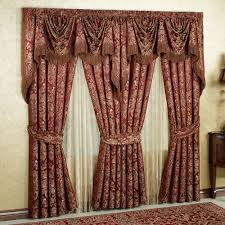 red ds and curtains bedroom pretty bedroom valance and curtain for