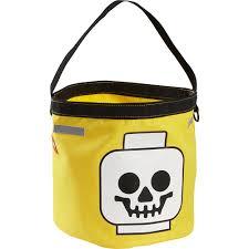 halloween pumpkin bag lego halloween bucket trick or treat bag orange pumpkin skull