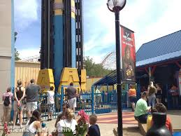 Six Flags St Louis Missouri Theme Park Archive Superman Tower Of Power At Six Flags St Louis