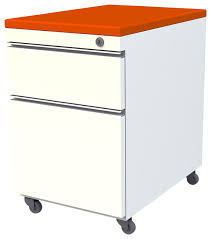 Pedestal Cabinets Mobile Pedestal Box File With Cushion Top Contemporary Filing