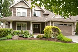 exterior house painting vancouver brown house white trim and houses