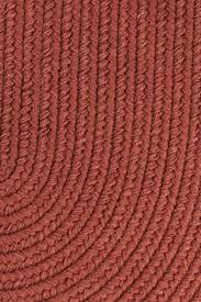 Braided Rug Rhody Terra Cotta Braided Area Rug