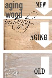 aging wood instantly barn wood vinegar and barn