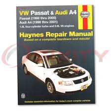 volkswagen vw passat haynes repair manual gl tdi gls 4 motion glx