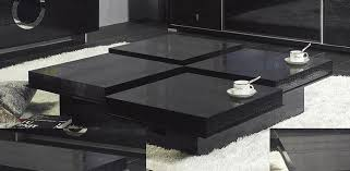 Black Living Room Tables Impressive Modern Coffee Tables Of Black Living Room Cozynest Home