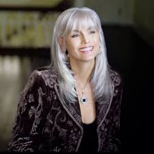 emmylou harris knows how to rock the aging process shining silver