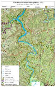 Potomac River On Map West Virginia Dnr Wma Map Project