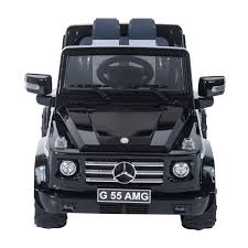 jeep kid amazon com mercedes benz g55 12v kids electric battery toy ride
