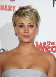 short hairstyles for 2015 for women with large foreheads allow kaley cuoco sweeting to show you a creative way to put a