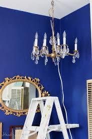 hanging a chandelier in my studio apartment rental in seattle