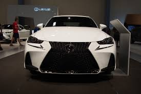 lexus sport wagon 2017 lexus is makes north american debut autoguide com news