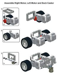 this is my simple ev3 robot design it is very quick to build