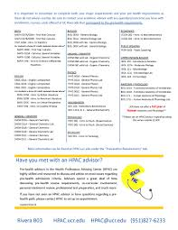 Ucr Campus Map Health Professions Advising Center Accepted Ucr Course Equivalents