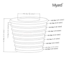 Umbrella Hole Ring Set by Amazon Com Myard Umbrella Cone Wedge Fits Patio Table Hole
