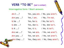 to be verb to be