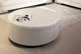 round leather coffee table leather ottoman table square gascoigne leather centre