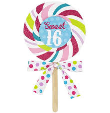 glitter lollipop sweet 16 invitations sweet 16 supplies