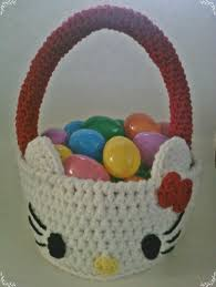 hello easter basket free crochet hello easter basket pdf pattern crochet
