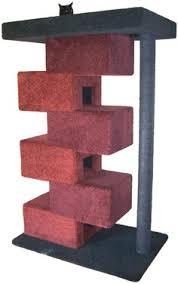 Modern Design Cat Furniture by Trendycat Cat Tower Furniture Provides Modern Contemporary