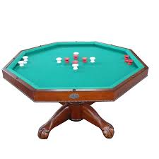 slate bumper pool table berner 54 inch 3 in 1 slate combination game table antique walnut