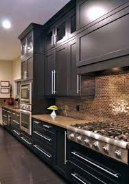 what backsplash looks with cabinets 39 trendy and chic copper kitchen backsplashes digsdigs
