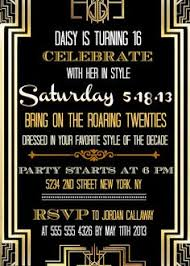 updated great gatsby inspired invitations etsy store