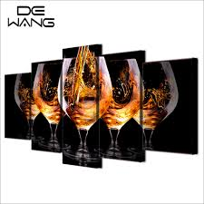 Wine Home Decor Online Get Cheap Art Wine Glasses Aliexpress Com Alibaba Group